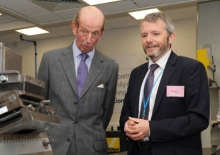 The Duke of Kent visiting 3M.