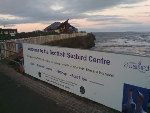 Seabird Centre sign