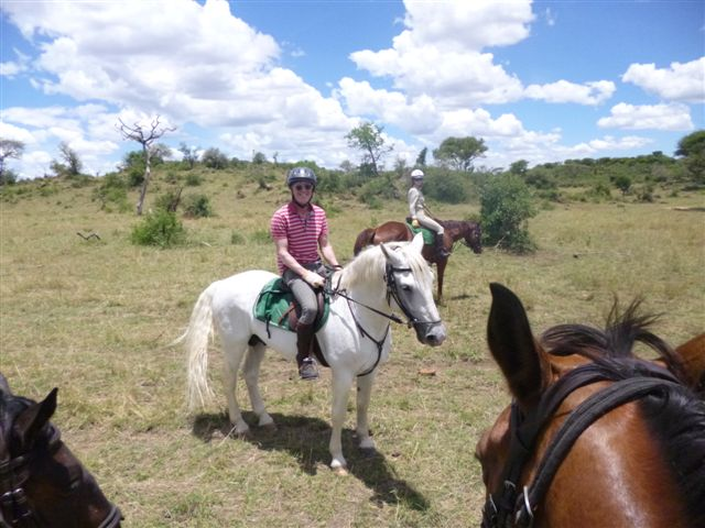 Pegasus and Sean - Tanzania Oct 2013