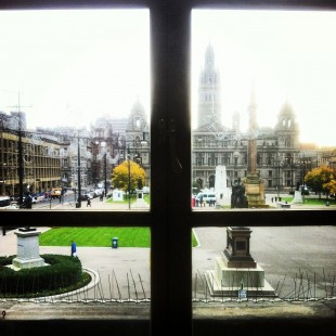 View from Glasgow Chambers of Commerce