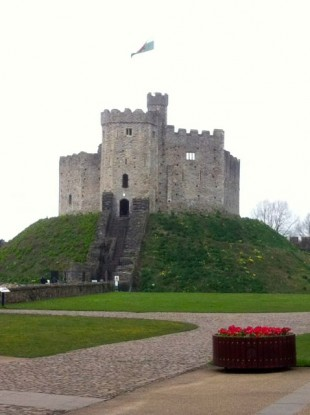 View of Cardiff Castle