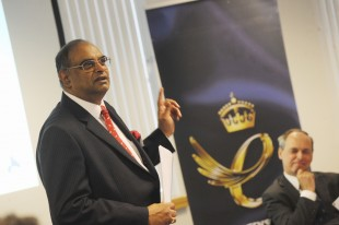 Paul Sabapathy, CBE.
