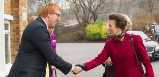 Princess Anne meets CMB's Andrew Truelove