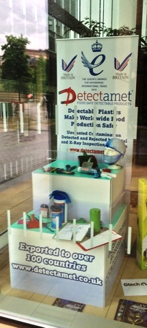 Detectamet window display