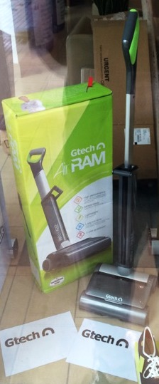 Gtech window display