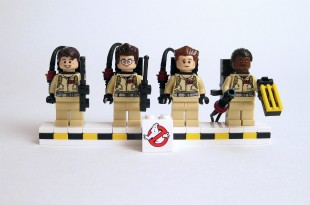 Ghostbusters Lego minifigs (credit: Brickset/CC BY 2.0) )