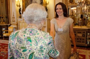Tiffany London meets the Queen
