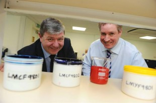 Alistair Carmichael at Paragon Ink (credit: Scotland Office/