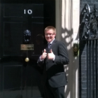 Thomas Murphy outise 10 Downing Street
