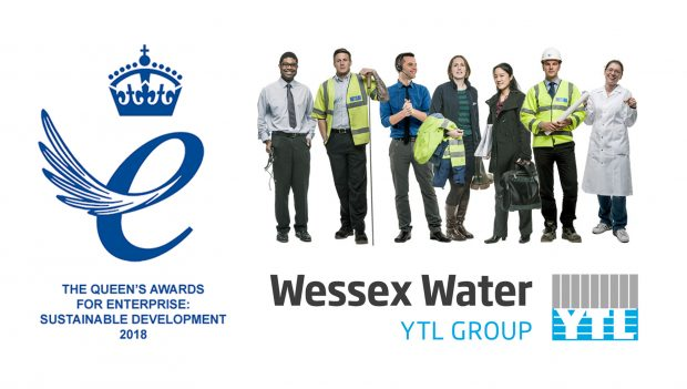 Wessex Water's Queen's Award for Enterprise.
