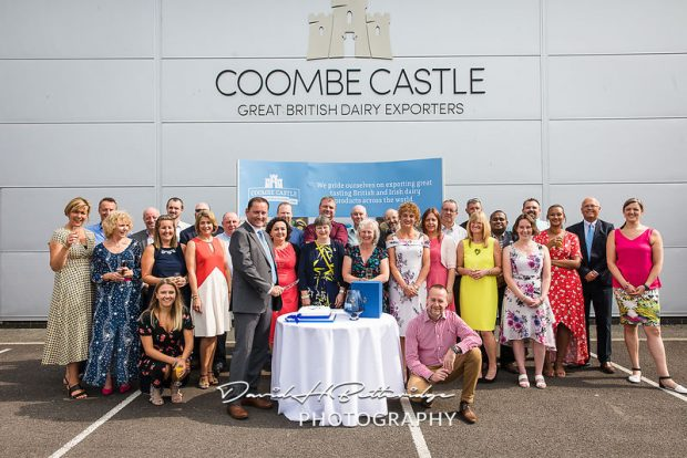 The Coombe Castle team with their Queens Award.